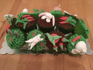 Carrot Themed Cupcakes