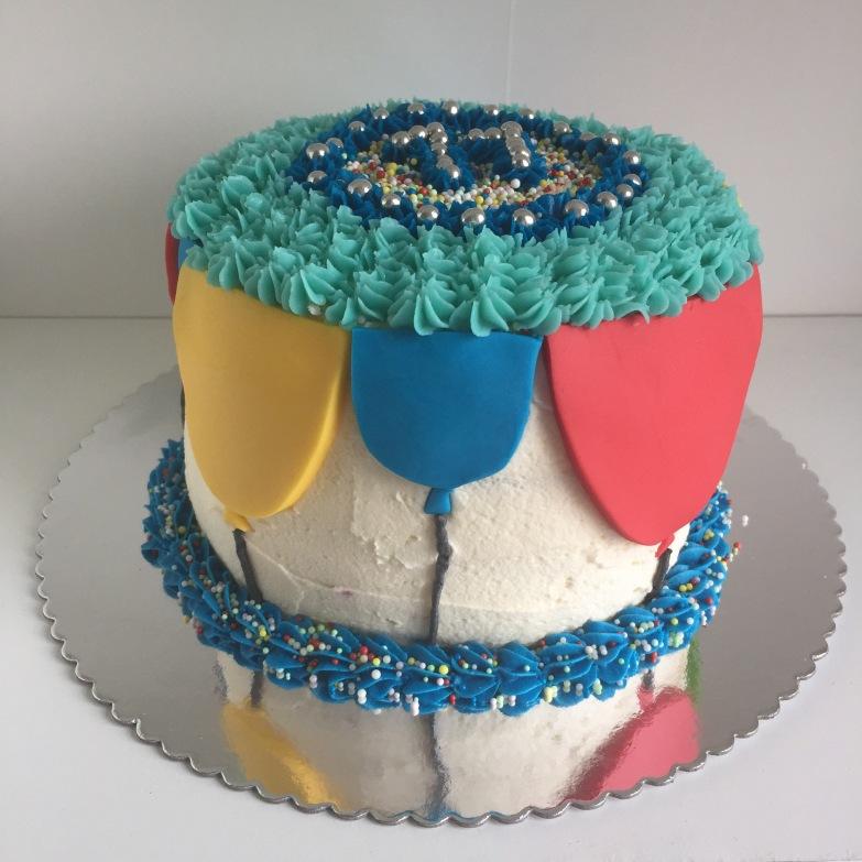 Balloon Birthday Cake!