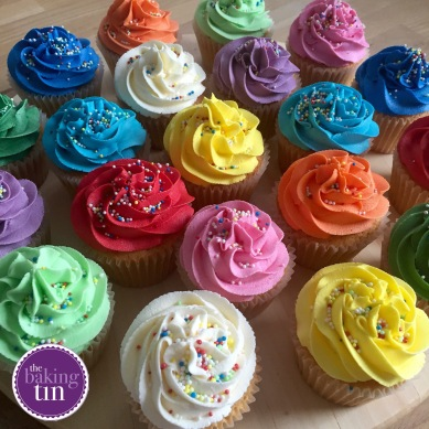 Colourful Cupcakes with Sprinkles